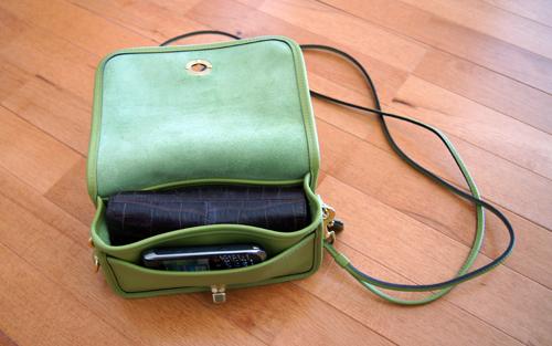 Coach Classic Leather Shoulder Bag 89