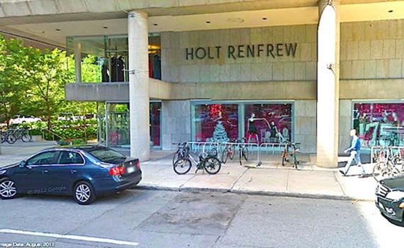 Holt Renfrew Ottawa and Quebec City Closing