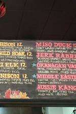 Wild Burger Game Meat optionsSLIDER