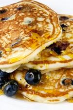 blueberry pancakes SLIDER